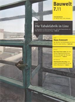 Cover Bauwelt 02.2011