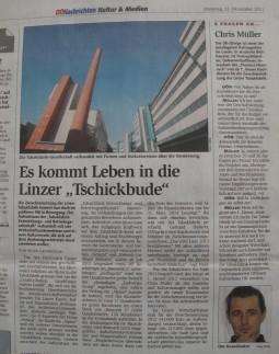 Scan: OÖNachrichten 13.12.2011